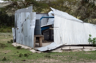 Demolished house in Narasha. Photo Mats Hellmark
